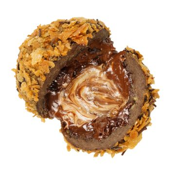 Imperial knödel /three kinds of Belgian chocolate', french biscuits/
