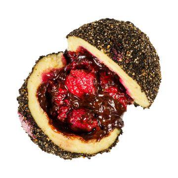 Raspberry Oreo /dark chocolate, raspberries,  oreo biscuits/