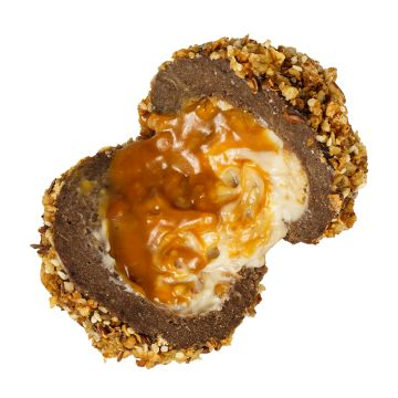 Caramel /caramel, Belgian milk chocolatze, peanuts, honey, nuts/