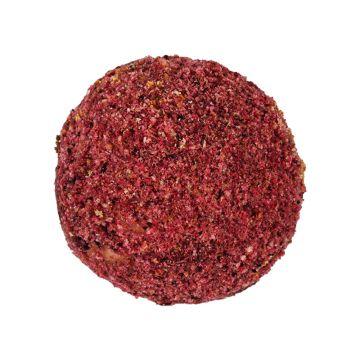 Raspberry sweet cheese /raspberries, sweet cheese/