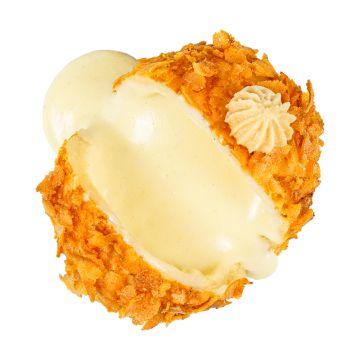 The Madagascar Princess /vanilla creme with bourbon vanilla, white chocolate, mascarpone cheese, French biscuits/